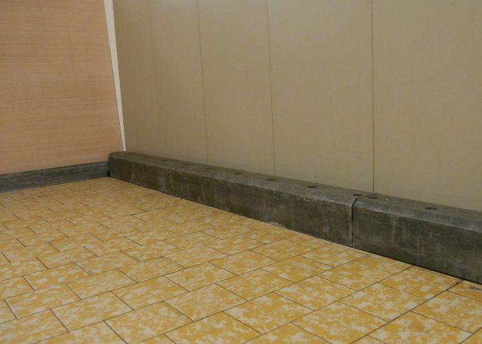 Wandschutz. Wand und Fußleiste schützen