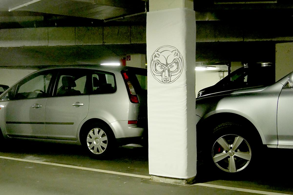 Parkhaus Säulenschutz